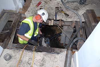 Diamond Drilling Under House Foundations 350x