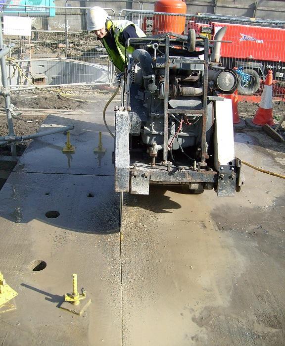 Floor-Sawing