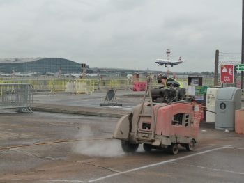 Floor Sawing London Heathrow