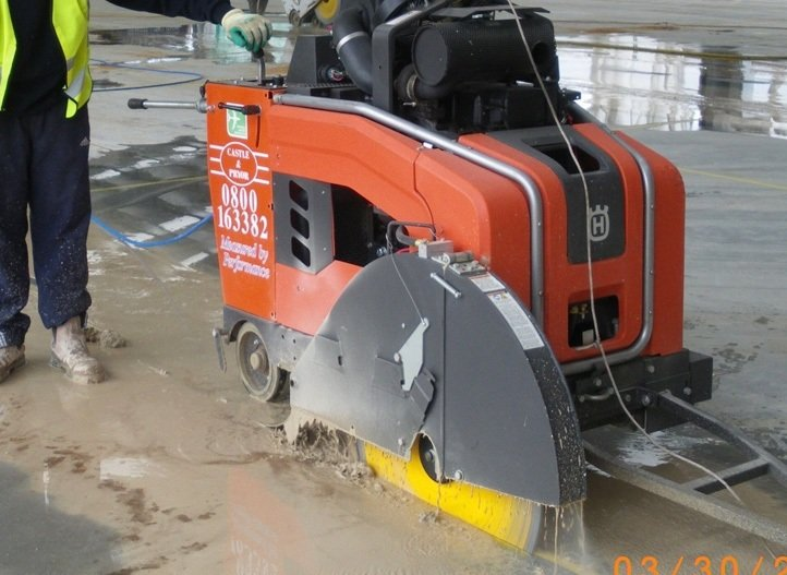 Concrete Floor Sawing