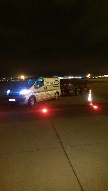 Airport Ground Lighting Installation