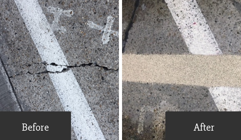 Before After Maxicrete Concrete Repair