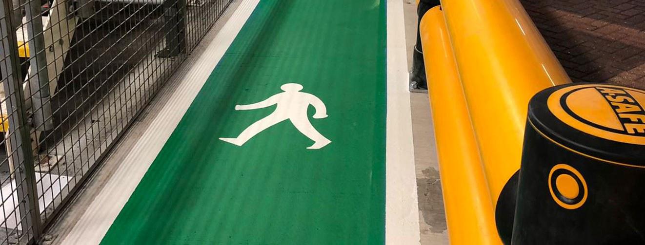 Line Painting Runways