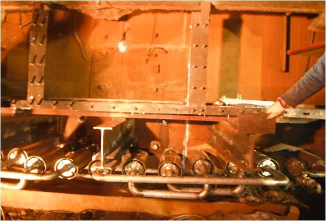 Tata Steel Port Clean Out Blast Furnace